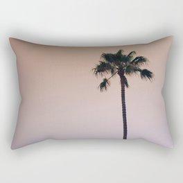 One Night One Palm Tree Rectangular Pillow