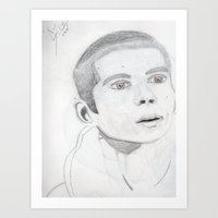 stiles Art Prints featuring Stiles by KadenDior