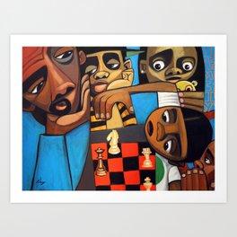 365dwd - life's a chess move Art Print
