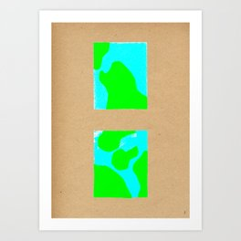 terres mers Art Print