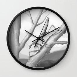 Danuria affinis Habitat Wall Clock