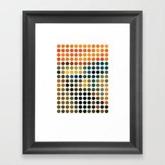 Scream Remixed Framed Art Print