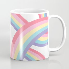 Rainbow abstract pattern Coffee Mug
