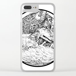 The Wolf and the Fox Clear iPhone Case