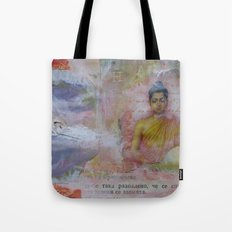 Buddha Collage - JUSTART (c) Tote Bag