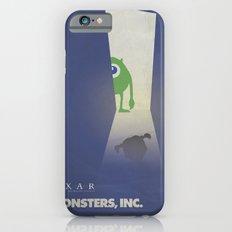 Monsters Inc. Walt Disney Alternative Movie Poster Slim Case iPhone 6