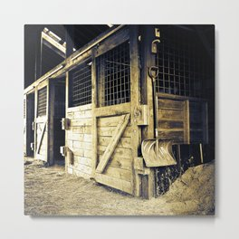 Stable Days Metal Print