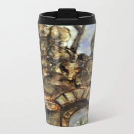 Burned Out Castle #1 Metal Travel Mug