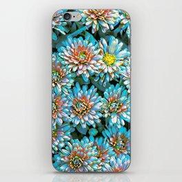 Van Gogh Blue Chrysanthemum iPhone Skin
