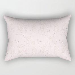 Morning Routine Rectangular Pillow