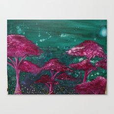 Fireflies and Will o' Wisps Canvas Print