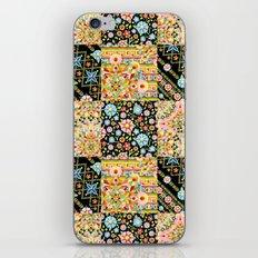 Crazy Crazy Patchwork iPhone & iPod Skin