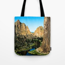 Rocks + River // Hiking Mountains Colorado Scenic View Landscape Photography Forest Backpacking Vibe Tote Bag