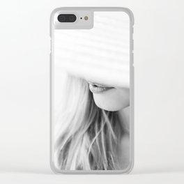 la femme Clear iPhone Case