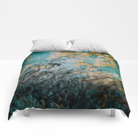 Two Worlds Collide Comforters