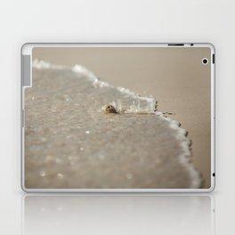 Seashell in the Waves Laptop & iPad Skin