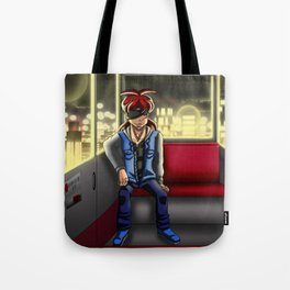Nightly ride Tote Bag