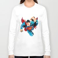 hero Long Sleeve T-shirts featuring HERO by ALmighty1080