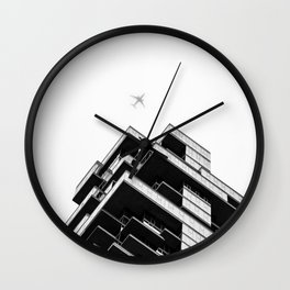 56 Leonard Street skyscraper in Tribeca, New York City Wall Clock