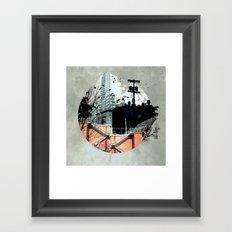 Fractal Disjunction Framed Art Print