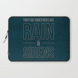 Rain & Sirens Laptop Sleeve