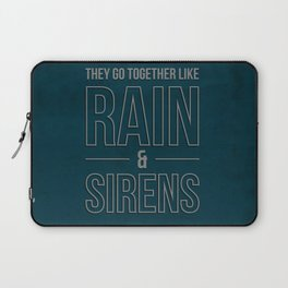 Rain & Sirens Laptop Sleeve