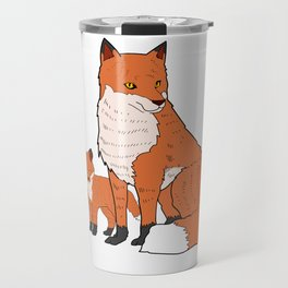 Mother Fox and A Kit Mother's Day Gift Idea Travel Mug