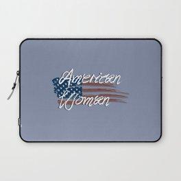 I'm An American Woman Laptop Sleeve