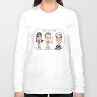 men Long Sleeve T-shirts featuring Men by t i t i l l a