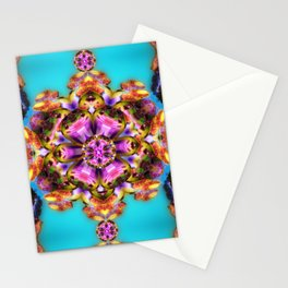 Fractal sea Stationery Cards