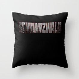 Schwarzwald Geschenkidee Design Motiv Throw Pillow