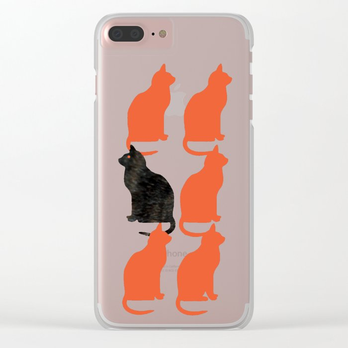 CATTERN SERIES 2 Clear iPhone Case