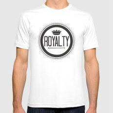 You Are #Royalty White MEDIUM Mens Fitted Tee