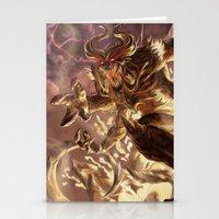 diablo Stationery Cards featuring Diablo by daniel_b_demented