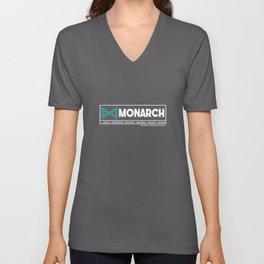 Monarch Unisex V-Neck
