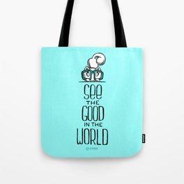 Skribbles: See the good Tote Bag