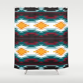 Native American Inspired Design Shower Curtain