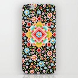 Geometric Chintz Mandala iPhone Skin