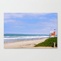 On Duty Canvas Print