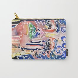 The Blue Queen Carry-All Pouch
