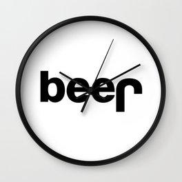 Beer Logo Wall Clock