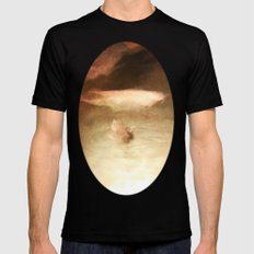 This is A Fish ! Mens Fitted Tee Black LARGE