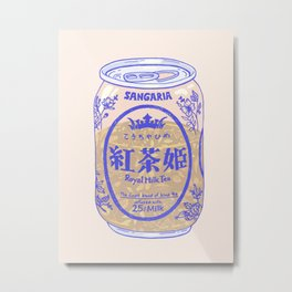 Royal Tea Metal Print