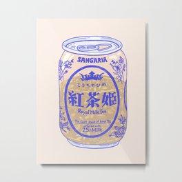 Royal Tea Metal Print
