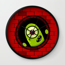Hey There Wall Clock