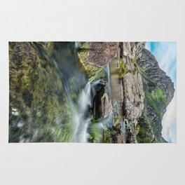 Tryfan Mountain Stream  Rug