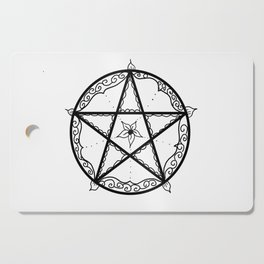Pentacle Cutting Board