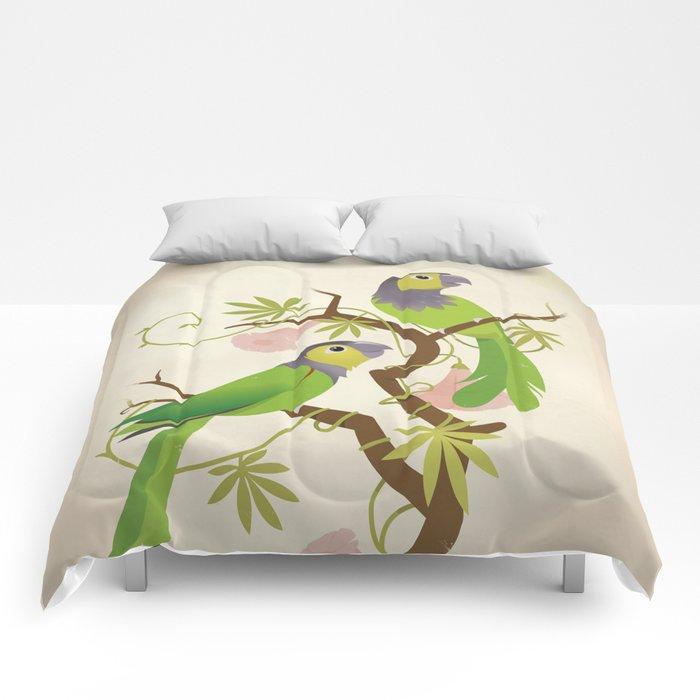 Black-capped conure Comforters