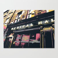 medical Canvas Prints featuring Medical Hall by shaymultimedia