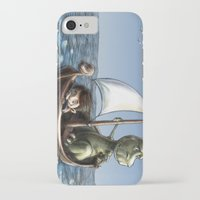 voyage iPhone & iPod Cases featuring Voyage by Allan McInnes